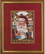 "Janlynn Santa's List Christmas Cross Stitch Kit 7"" x 10"" Thread Sorted - $16.99"