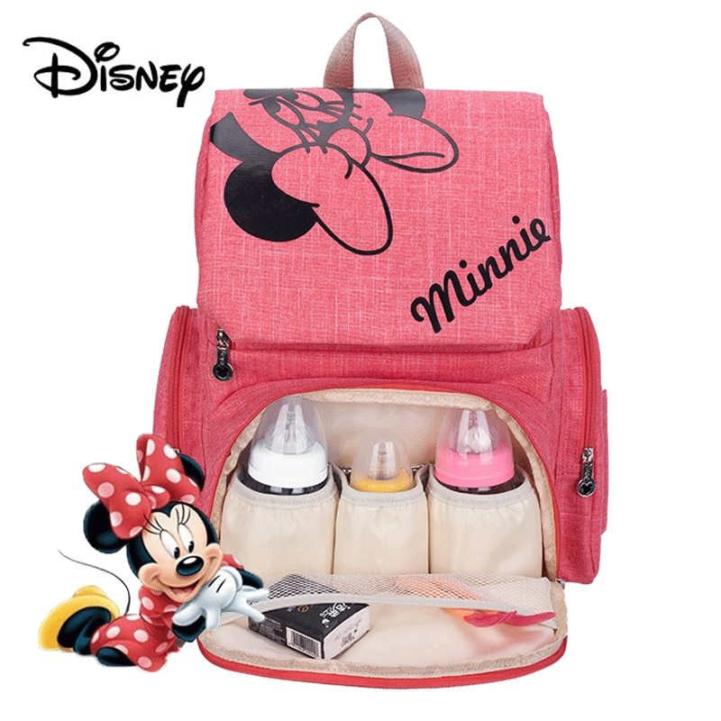 Primary image for Disney Mickey Minnie Baby Diaper Bags Bolso Maternal Stroller Bag Nappy Women Ba