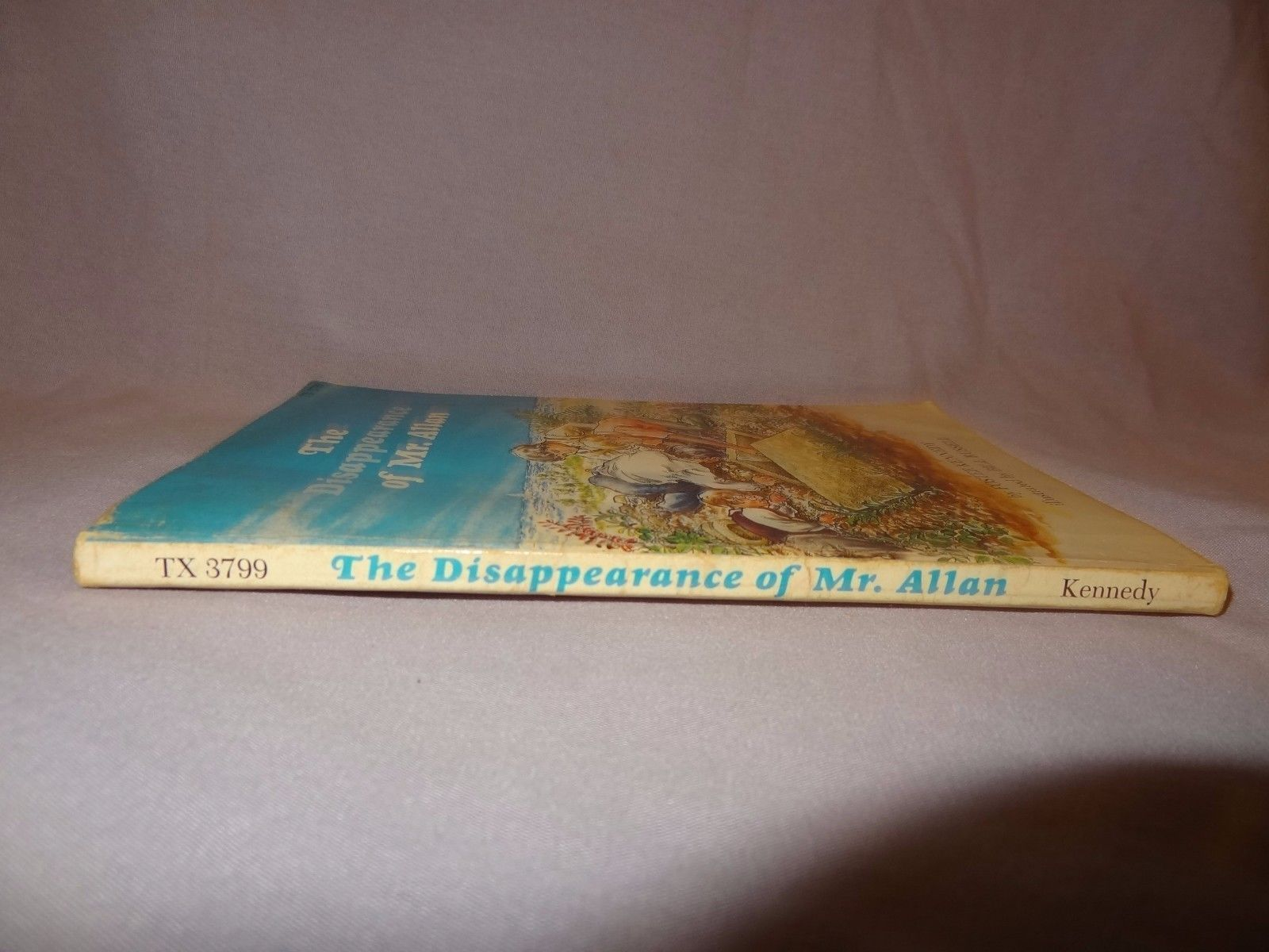 The Disappearance of Mr. Allan 1977 Scholastic Foster Kennedy Story Book