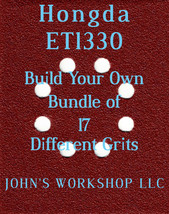 Build Your Own Bundle Hongda ET1330 1/4 Sheet No-Slip Sandpaper 17 Grits! - $0.99