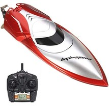 Haktoys HAK606 New 2018 High-Speed 2.4GHz Futuristic RC Boat with Capsiz... - $68.88