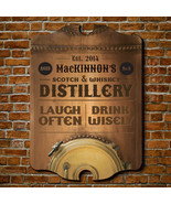 Whiskey Distillery Personalized Bar Sign - $49.95 - $79.95