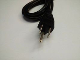 (2) 3 Pin AC Power Cord Cable for PC Desktop Computer TV and other Equipment  image 2