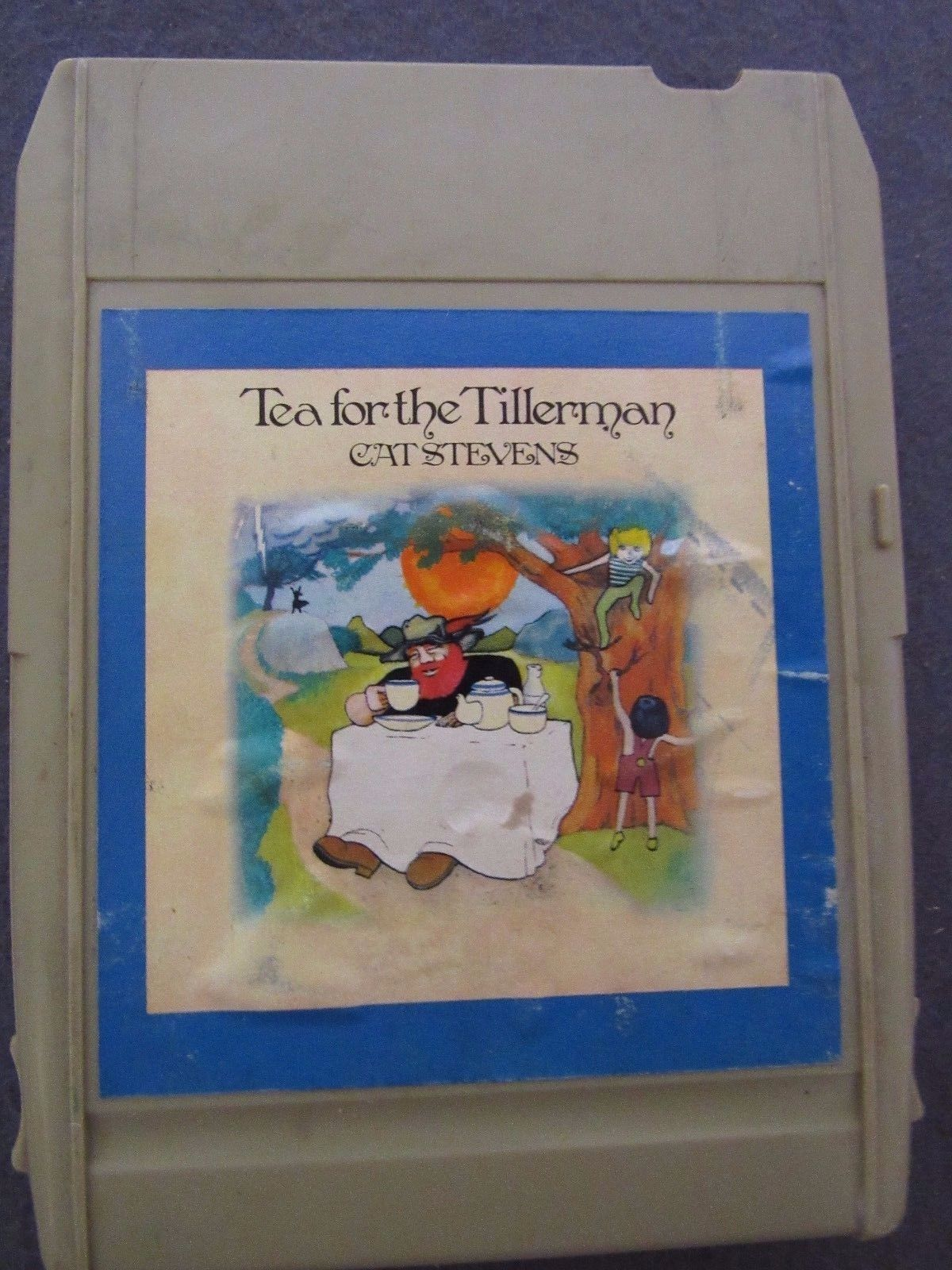 Vintage 8-Track Tea for the Tillerman Cat Stevens
