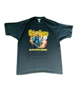 REEBOK BIG BEN ROETHLISBERGER Pittsburgh Steelers Black T Shirt Size XL NFL - $16.34