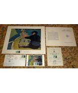 "Mary Cassatt ""Boating Party"" First Day Issue Stamps, Covers, Print, Program - $49.75"