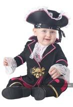 California Costumes Cap 'N Cuddlebug Pirata Bebés Disfraz Halloween 10055 - £20.24 GBP