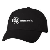 Beretta USA Script Logo Flexfit Fitted Hat Pro Gun 2nd Amendment Ball Ca... - $14.99