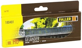 Faller 180401 Fence Two-Rail Scenery and Accessories - $28.51