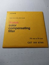 Kodak color compensating Filter  CC20R 75x75mm 1496728 NEW - $19.07