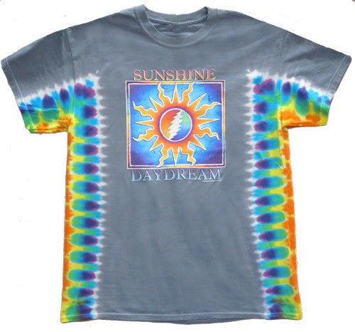* Grateful Dead - Tie Dye Sunshine Daydream T Shirt Licensed