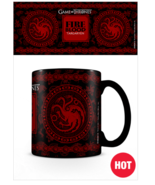 Game Of Thrones Targaryen Heat Changing Red Mug Official Licensed Tea Coffee - £15.80 GBP