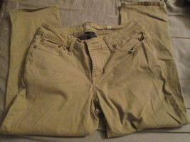Ladies Beige/Khaki Pant size 6 by faded Glory - $5.00
