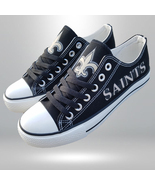 saints shoes women saints sneakers mens fashion new orleans football fan... - $59.99+