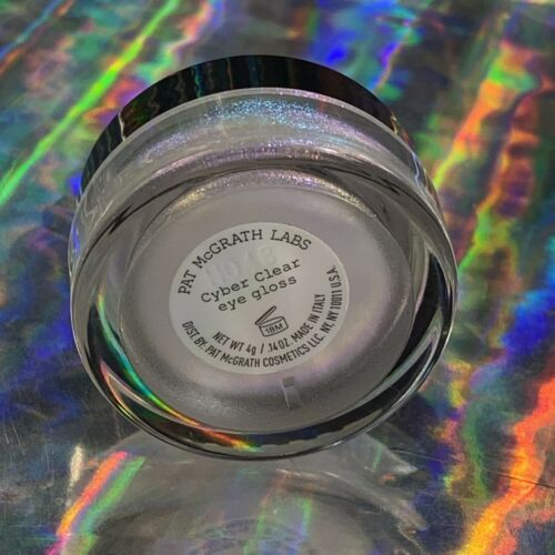 Pat McGrath New Unswatched CYBER CLEAR Eye Gloss SOLD OUT RARE LIMITED EDITION