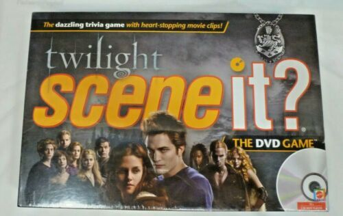 Primary image for Twilight Scene It? DVD Game - ***FACTORY SEALED*** - NIB - Mattel - 2009