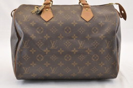 Louis Vuitton Monogram Speedy 30 Hand Bag M41526 Lv Auth ar1038 - $320.00