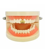 Single Tooth Grills Men New Gold Color Plate Open Face Scorpion Crown Ca... - $9.99