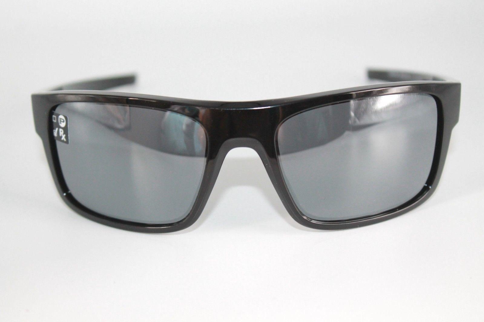 Oakley Drop Point Sunglasses OO9367-0260 Polished Black W/ Black Iridium Lens