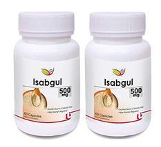 Krishna Biotrex Nutraceuticals Isabgul 500Mg - 60 Capsules (Pack Of 2) - $51.00