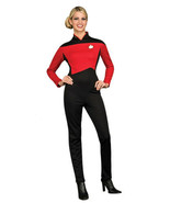 Star Trek The Next Generation Womens Red Command Deluxe Uniform Size SMA... - $61.44