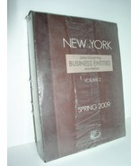 New York Laws Governing Business Entities Annotated (Volume 2,Spring 200... - $36.95