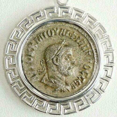 Primary image for PHILIP I Tetradrachm Ancient Roman Silver Coin Custom Sterling Pendant, SS Chain