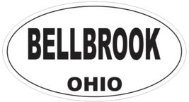 Bellbrook Ohio Oval Bumper Sticker or Helmet Sticker D6034 - $1.39+