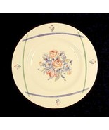 "Pfaltzgraff GateHouse 8"" Salad Plate Blue Pink Green Floral Ivory China - $4.95"