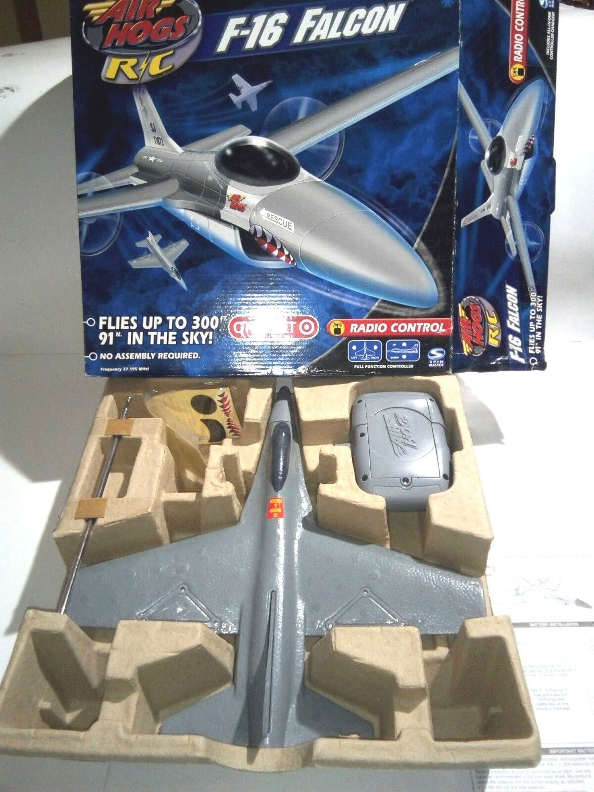 AIR HOGS RC F-16 FALCON FIGHTER RADIO CONTROL AIRPLANE (TARGET EXCLUSIVE) image 3