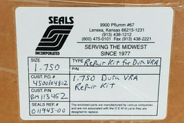 NIB FLOWSERVE 1.750 REPAIR KIT KR3C2375D33, AEPB2375WN3, MEED2375DZ3