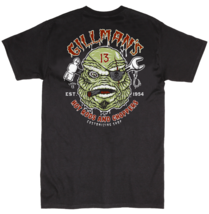 Lucky 13 Gillman Creature Hot Rods Choppers Cars Biker Mechanic T Shirt ... - $25.95+