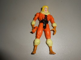 1992 Toy Biz X-Men Villain Sabretooth Loose Action Figure with Accessory    - $9.90