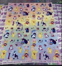 PICK1*Lisa Frank Sticker Sheet Minis Kitten Fruit Panda Peekaboo Koala Ice Cream image 7