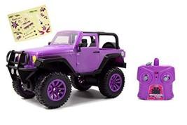 Jada Toys GIRLMAZING Big Foot Jeep R/C Vehicle 116 Scale Purple - $33.81