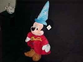 "24"" Disney Sorcerer Apprentice Mickey Wizard Plush Toy With Tags From Fa... - $34.64"