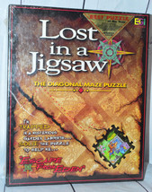 Buffalo Games LOST IN A JIGSAW Diagonal Maze Puzzle DIFFICULT - $29.58