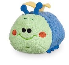 Disney Store HEIMLICH Blue Tsum Tsum Plush A Bugs Life Collection Mini 3 1/2'' - $11.76