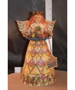 JIM SHORE HEARTWOOD CREEK ANGEL OF GENEROSITY FRUIT HARVEST 108922 - $17.58