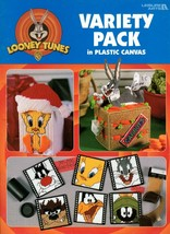 Looney Tunes Variety Pack in Plastic Canvas Tweety Sylvester Bugs Bunny Taz - $11.50