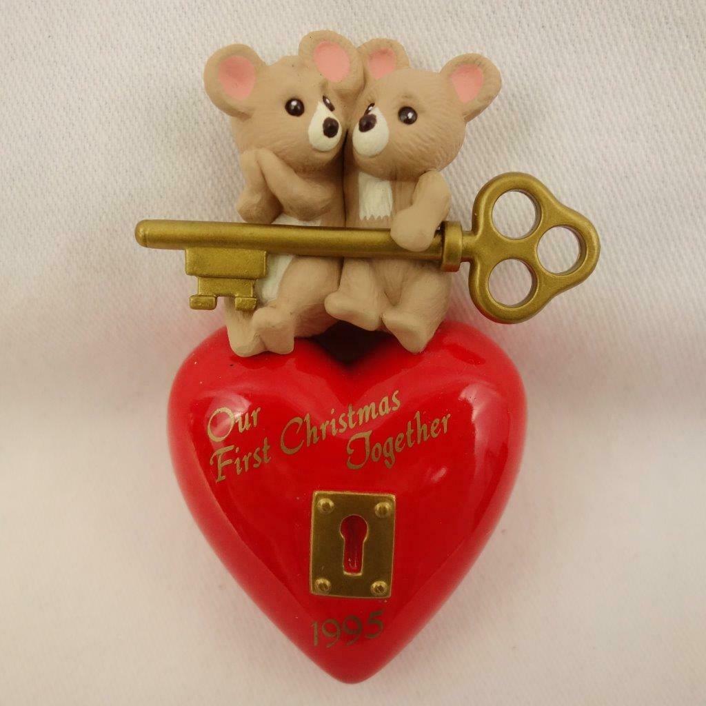 Vintage Hallmark Keepsake Ornament Our First Christmas Together 1995