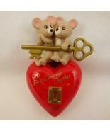 Vintage Hallmark Keepsake Ornament Our First Christmas Together 1995 - $12.59