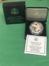 2003 National Wildlife Refuge System Bald Eagle Centennial Silver Medal OGP - $21.73