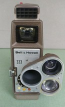 Vintage Bell & Howell 333 8MM Home Movie Camera Sunometer Case Manual - $21.53