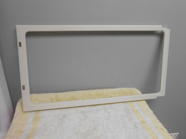 GE General Electric Microwave Oven Door Choke Cover WB55X10535 White - $12.99