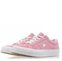 Converse Mens One Star Ox Suede 158436C Pink Glow/White Size 8.5 Unisex - $49.99