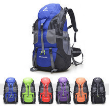 50L Outdoor Camping Backpack Large Travel Hiking Waterproof Luggage Ruck... - $33.83