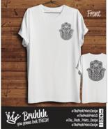 Hamsa Mandala T Shirt Tattoo Art Edgy Love Religion Tumblr Hipster Unise... - $15.43