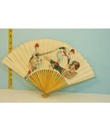 Vintage Pittsburgh Pirates Fan Appreciation Palm Expanding Fan Japan - $17.81