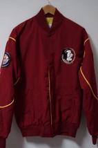 Vintage Starter Florida State Seminoles Fsu Ncaa Nylon Jacket Windbreaker Size L - $23.75